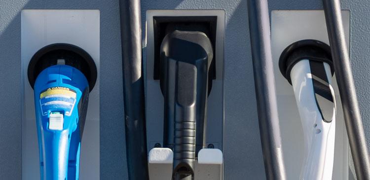 Ladestation Elektromobilität